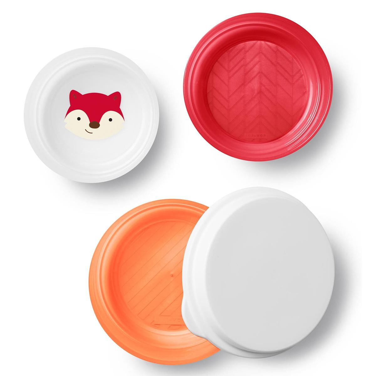 Vaisselle & Couvert Lot de 3 Bols Smart Serve - Renard Lot de 3 Bols Smart Serve - Renard