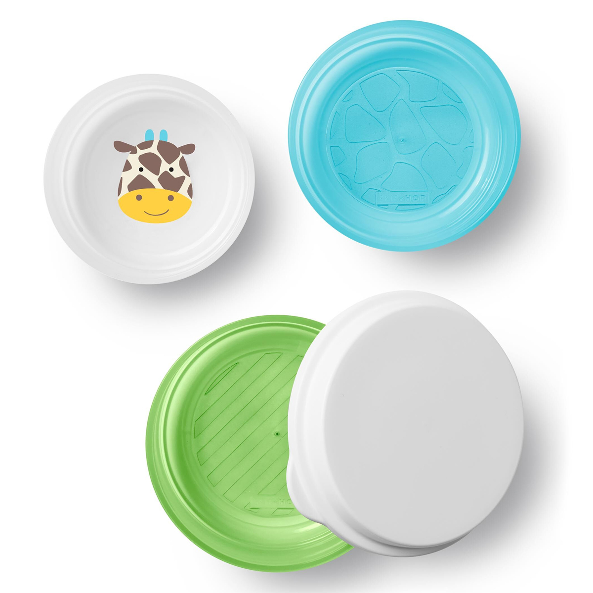 Vaisselle & Couvert Lot de 3 Bols Smart Serve - Girafe