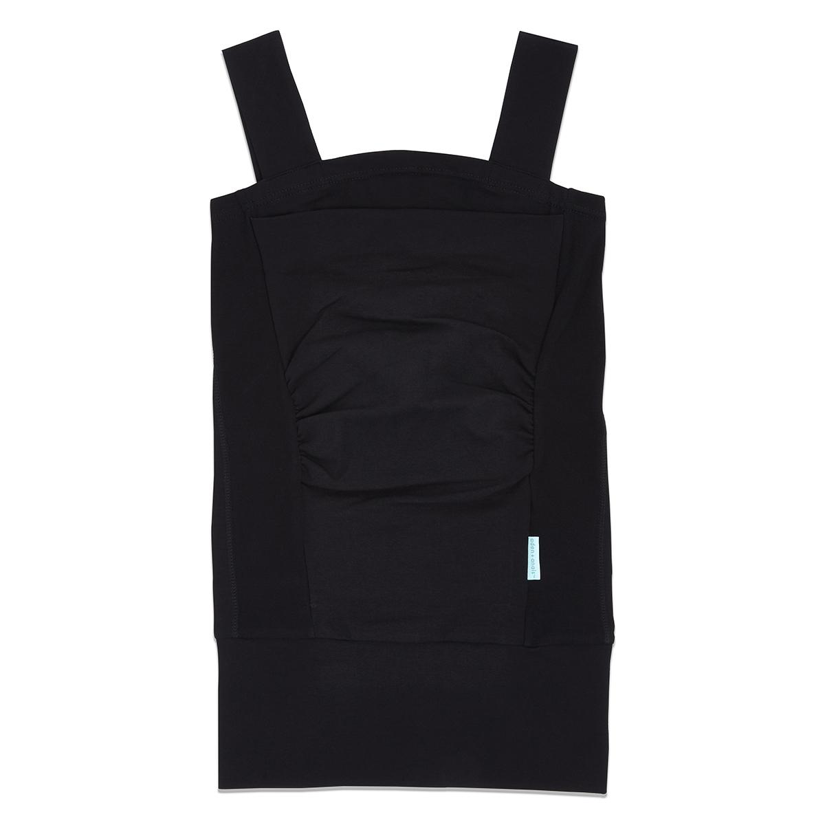 Porte bébé Top Peau-à-peau Solid Black - M Top Peau-à-peau Solid Black - M