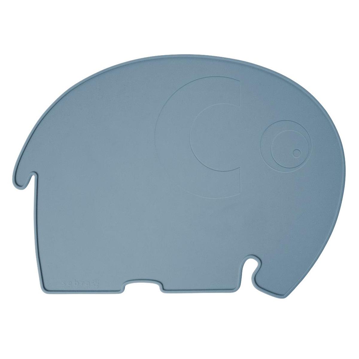 Vaisselle & Couvert Set de Table Eléphant - Bleu