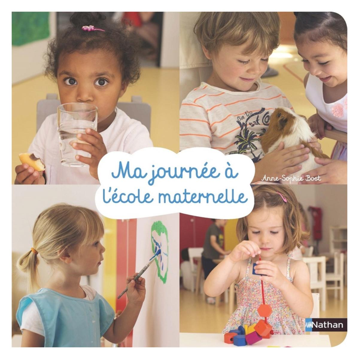 Livre & Carte Ma Journée à L'école Maternelle Ma Journée à L'école Maternelle