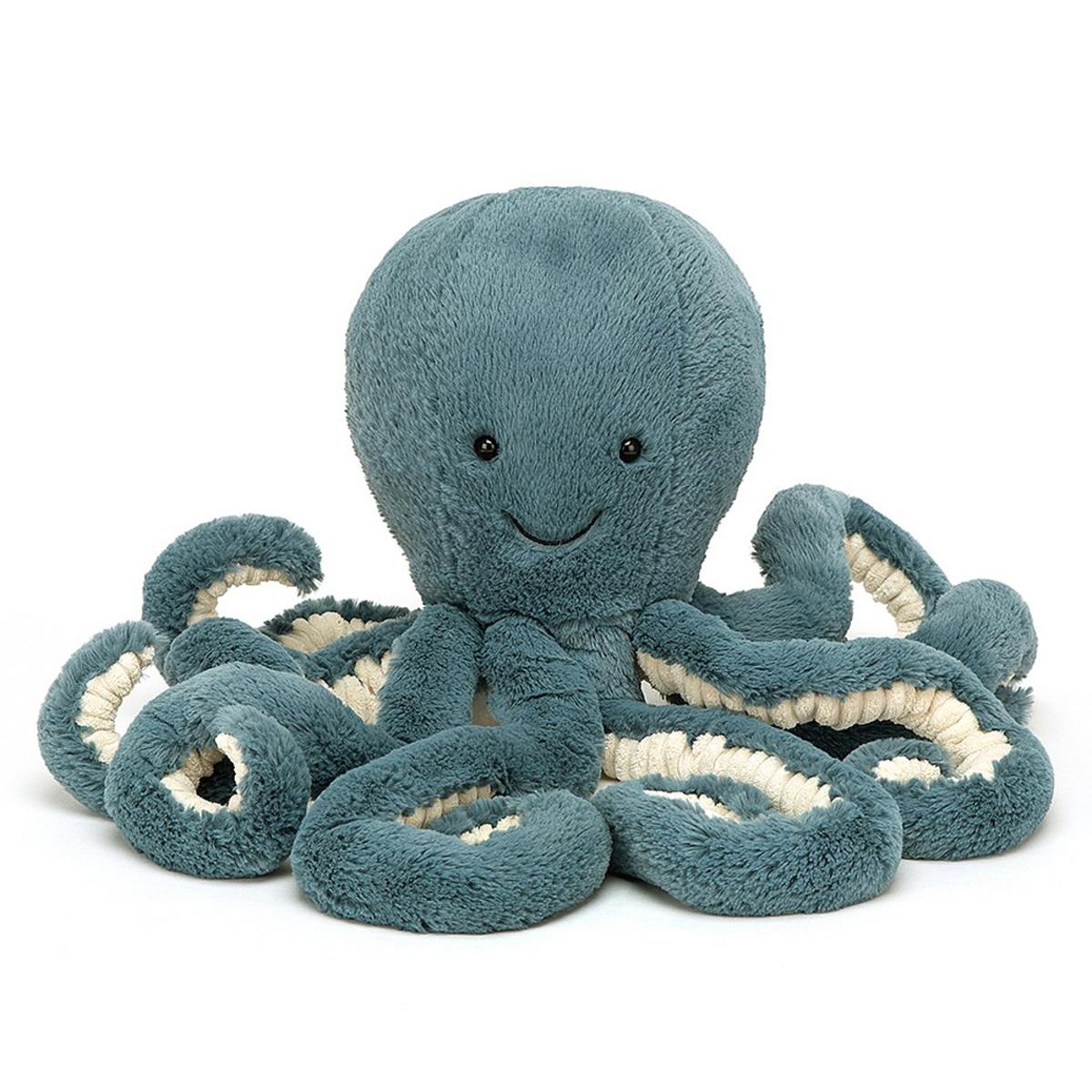 Peluche Storm Octopus - Small Peluche Pieuvre 23 cm
