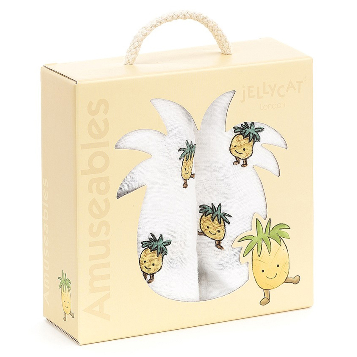 Lange Coffret de 2 Langes - Amuseable Pineapple