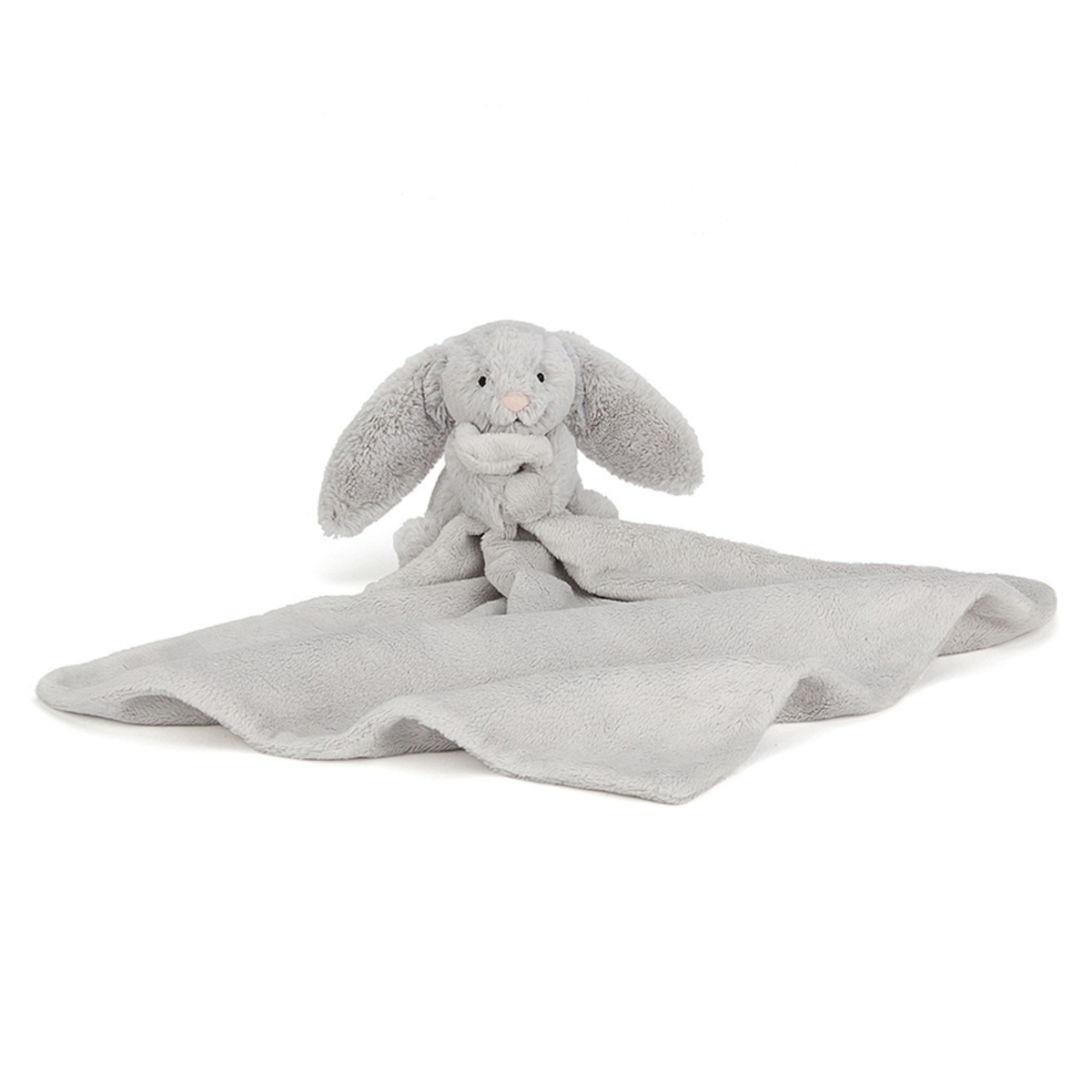 Doudou Bashful Silver Bunny Soother Bashful Silver Bunny Soother