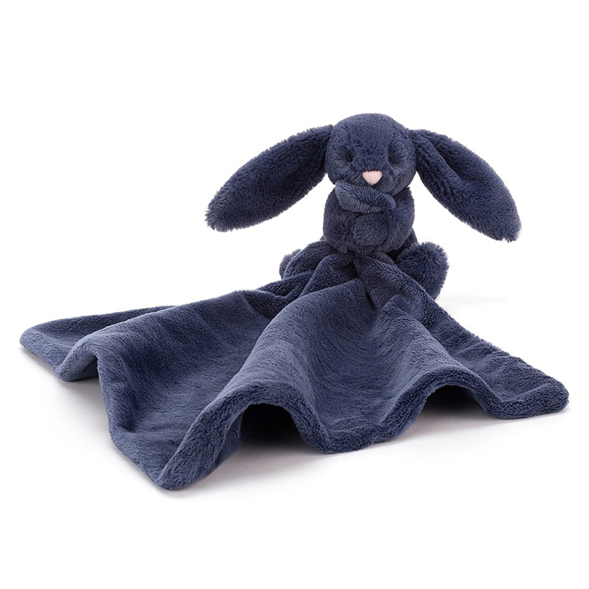 Doudou Bashful Navy Bunny Soother Bashful Navy Bunny Soother