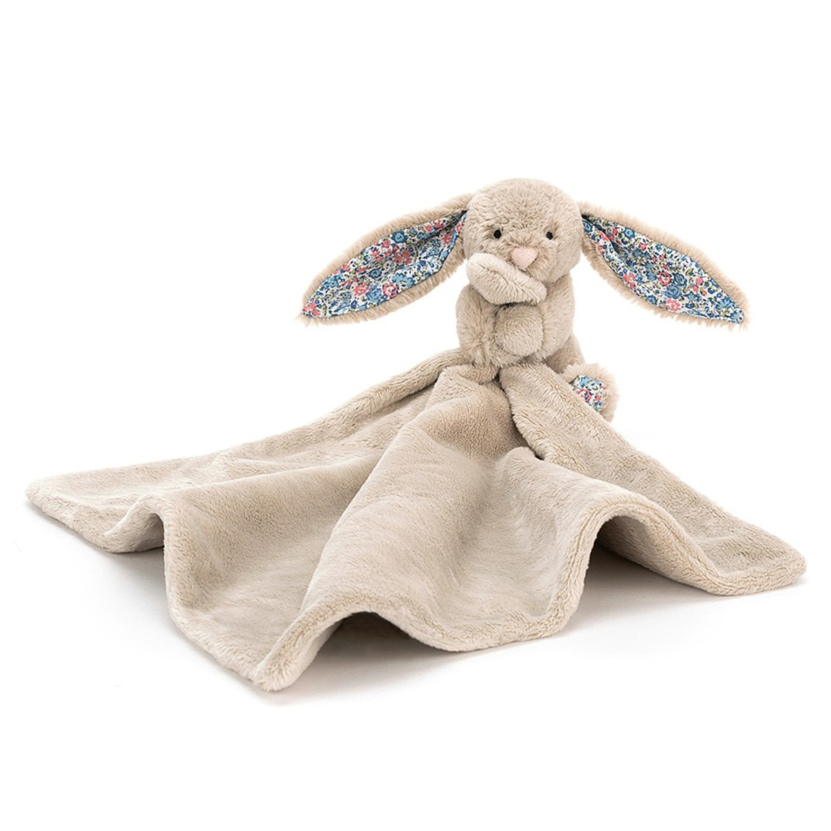 Doudou Blossom Beige Bunny Soother Blossom Beige Bunny Soother