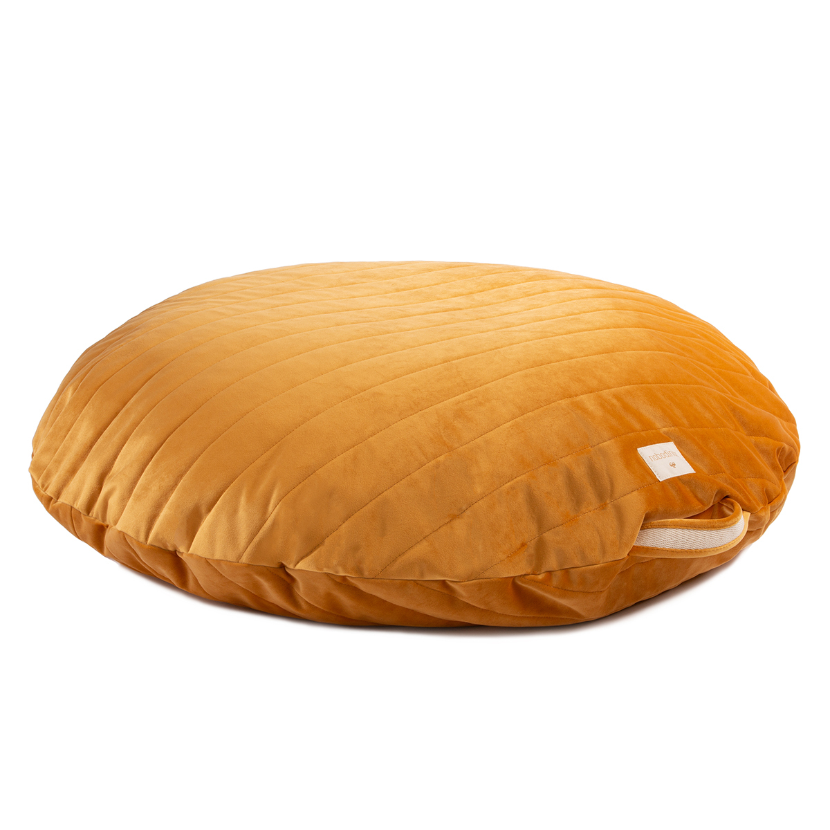 Fauteuil Pouf Sahara Velvet - Farniente Yellow Pouf Sahara Velvet - Farniente Yellow