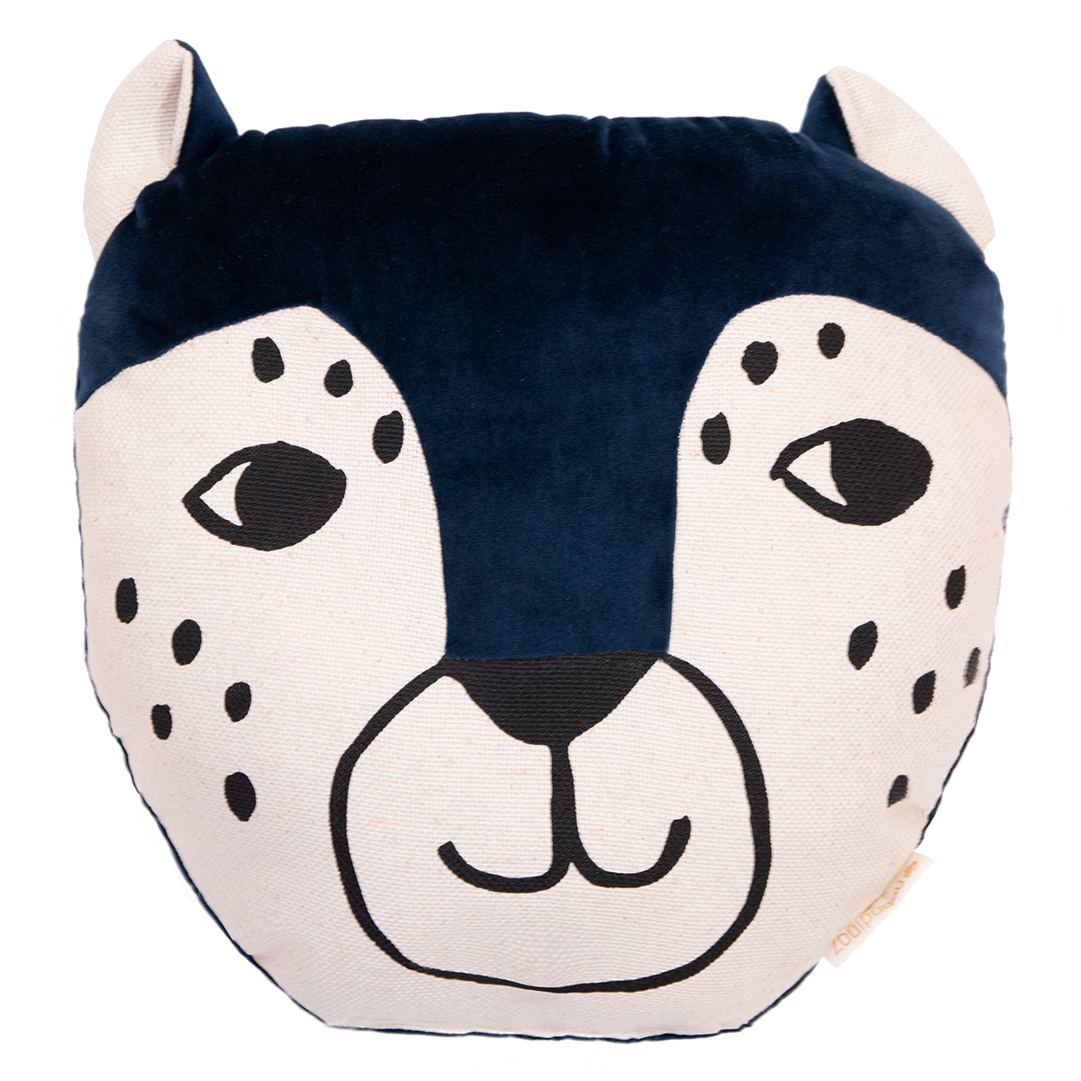 Coussin Coussin Leopard - Night Blue Coussin Leopard - Night Blue