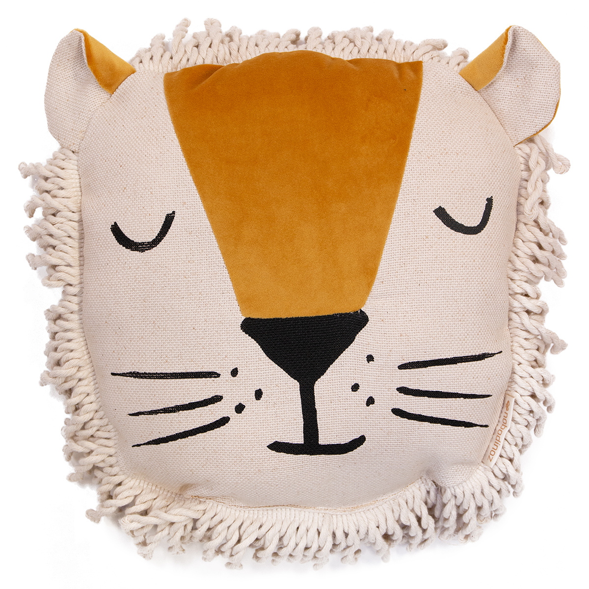 Coussin Coussin Lion - Yellow Farniente Coussin Lion - Yellow Farniente