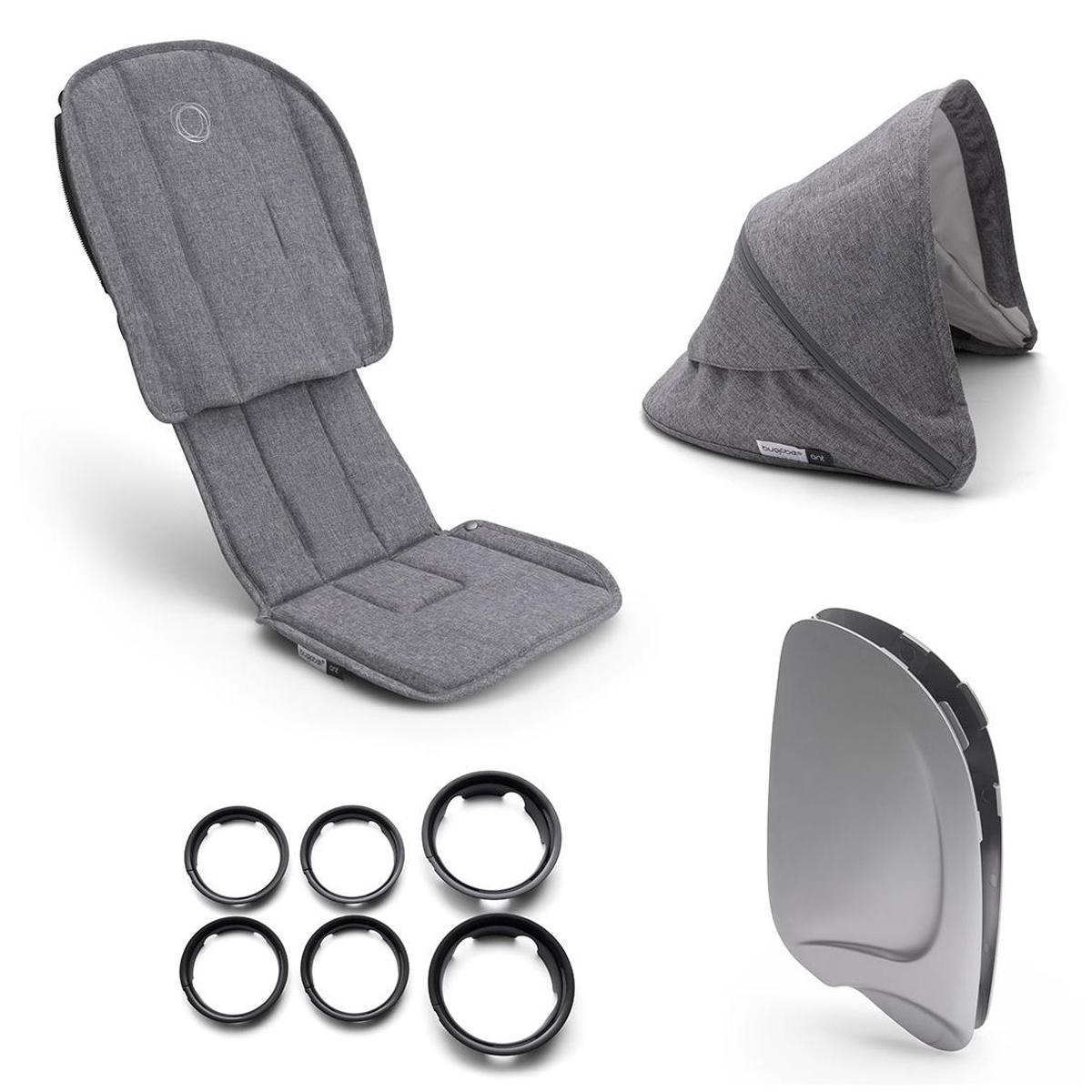 Accessoires poussette Style Set ANT - Gris Chiné