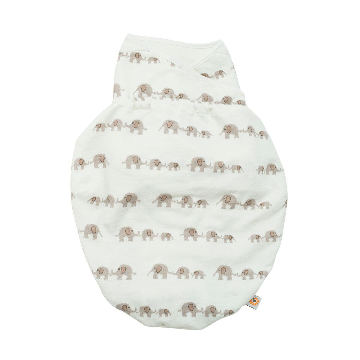 Gigoteuse Couverture d'Emmaillotage - Eléphants Couverture d'Emmaillotage - Eléphants