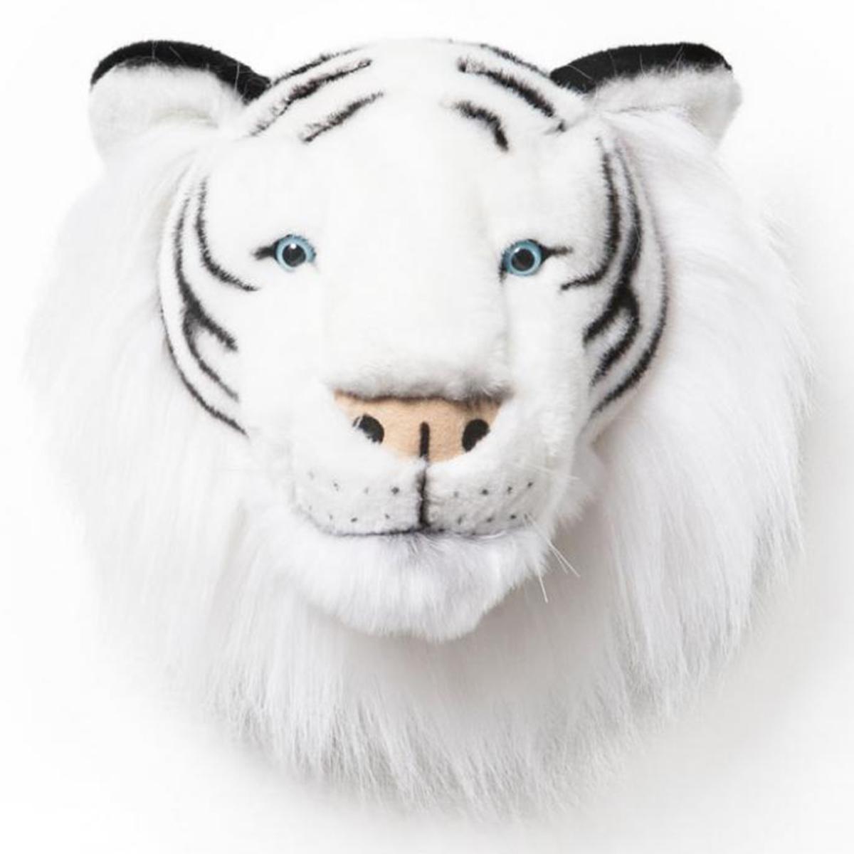 Objet décoration Albert Trophée Tigre Blanc