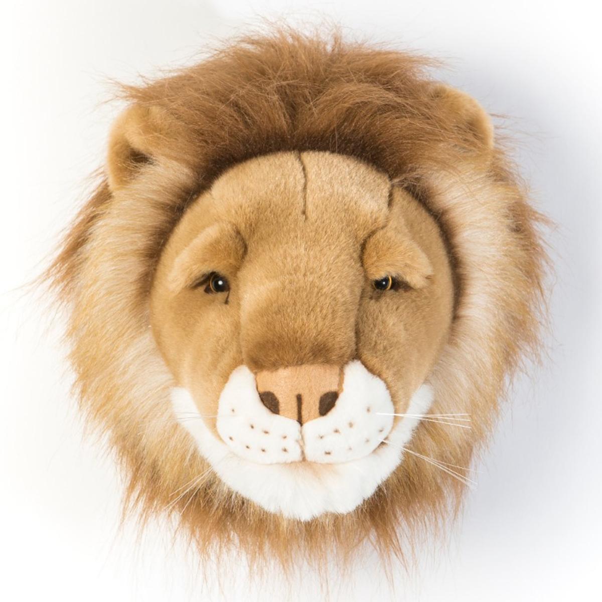 Objet décoration César Trophée Lion
