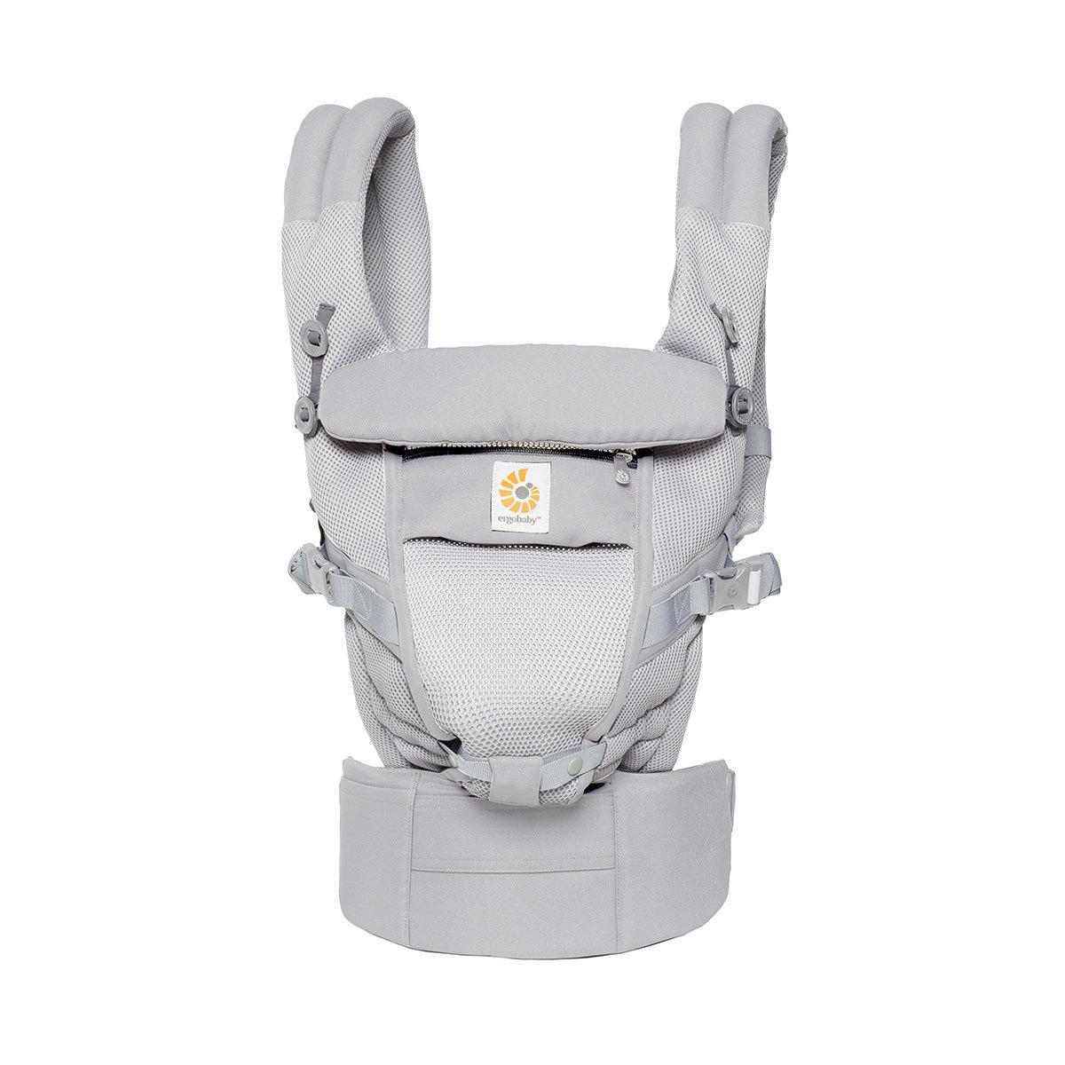 Porte bébé Porte-Bébé Adapt - Cool Air Mesh - Gris Perle