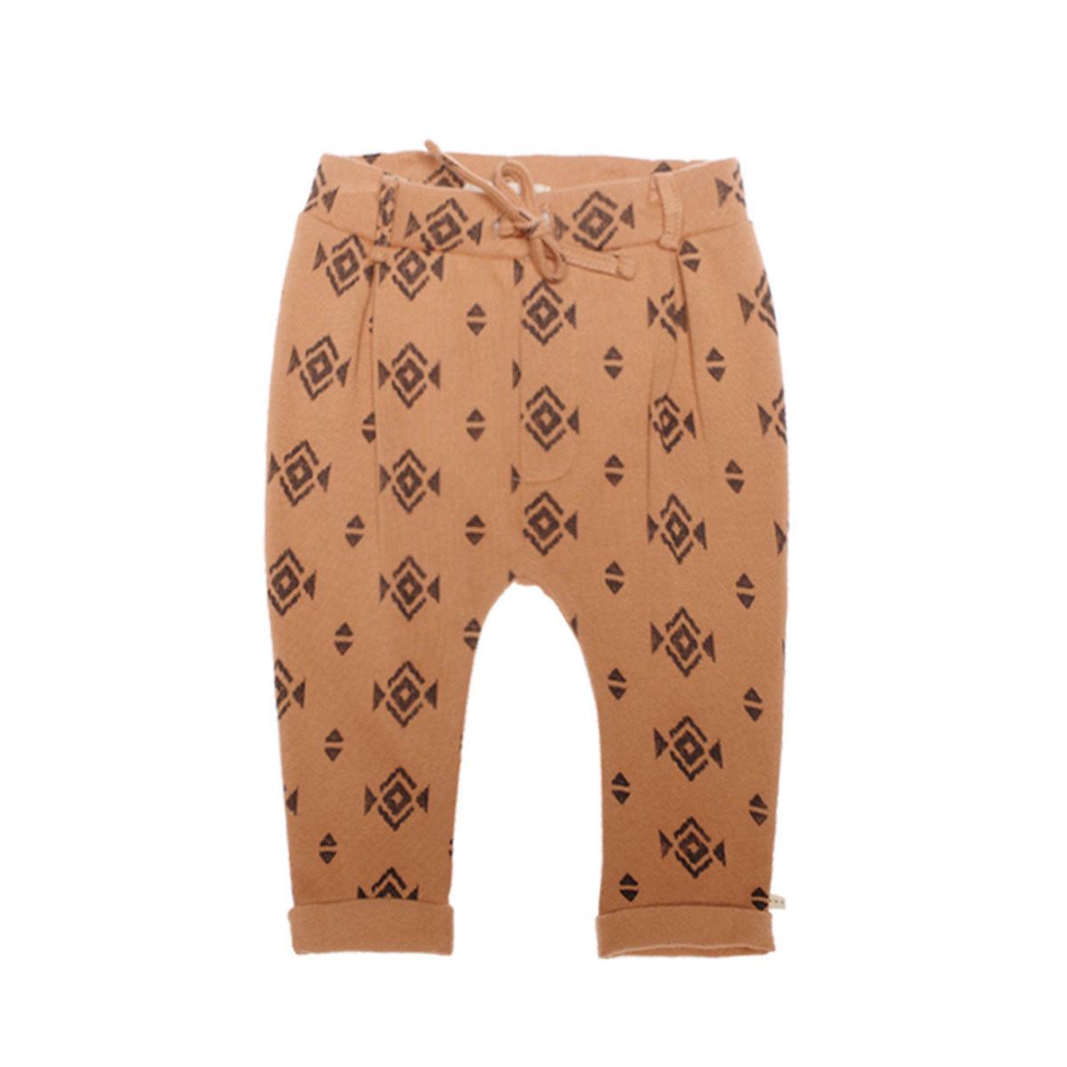 Bas bébé Pantalon Minichino Cannelle - 18 Mois Pantalon Minichino Cannelle - 18 Mois