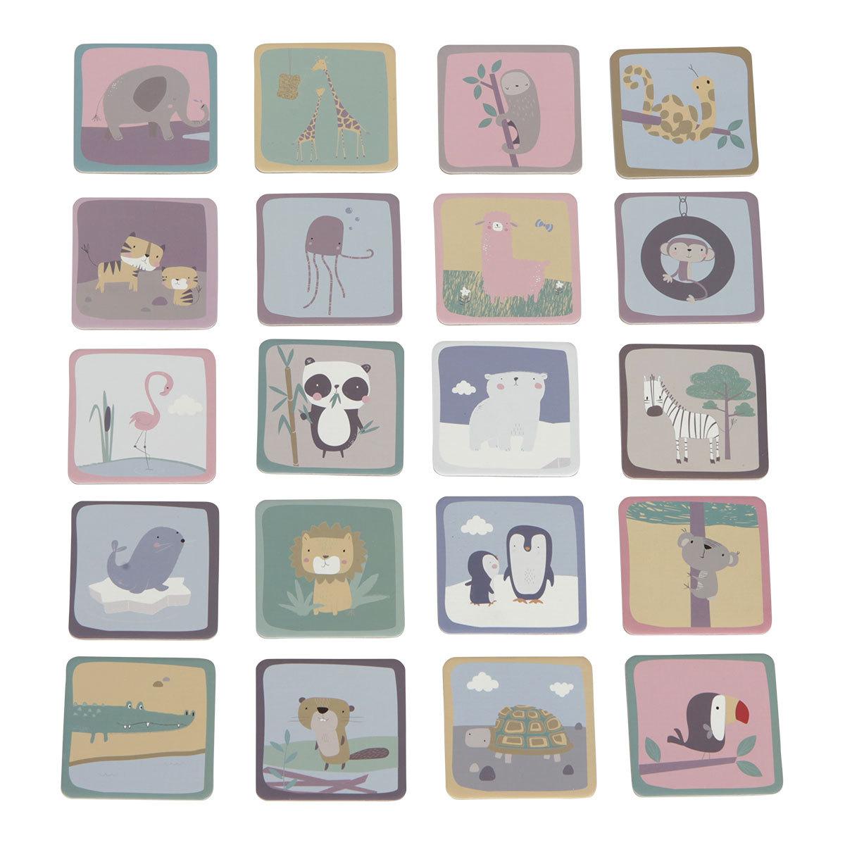 Mes premiers jouets Memo Zoo Memo Zoo