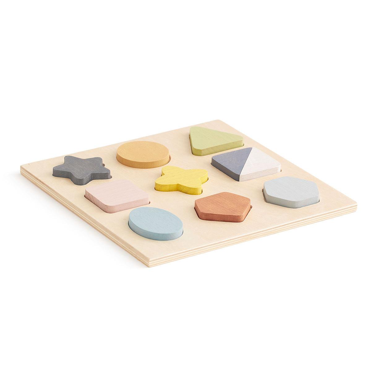 Mes premiers jouets Puzzle en Bois Geo
