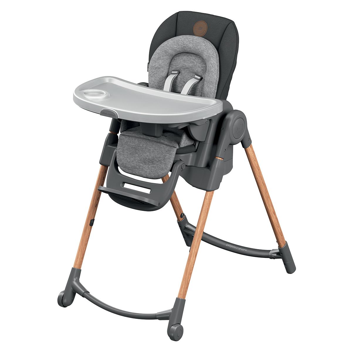 Chaise haute Chaise Haute Minla - Essential Graphite Chaise Haute Minla - Essential Graphite