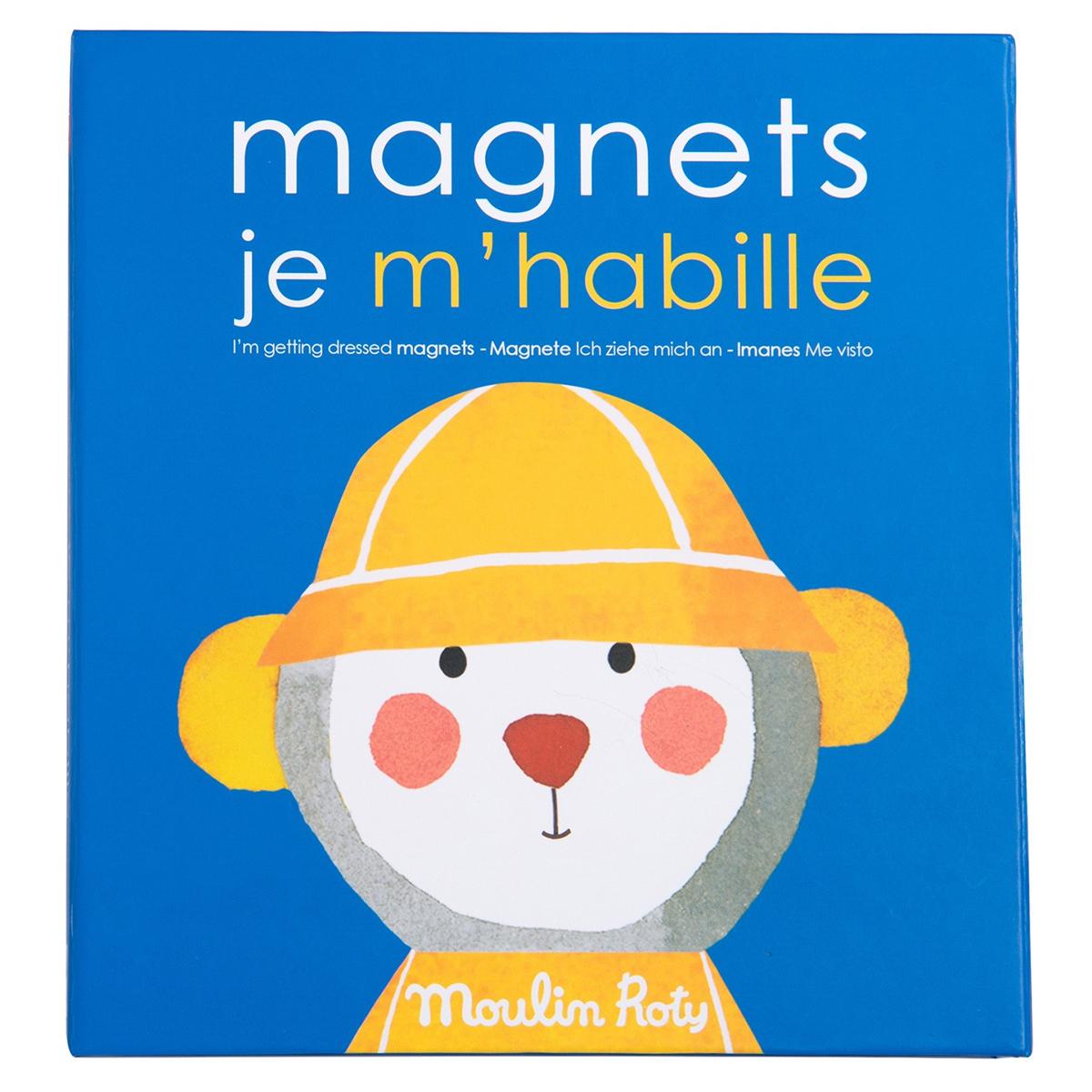Mes premiers jouets Jeu Magnétique Je m'Habille - Les Popipop