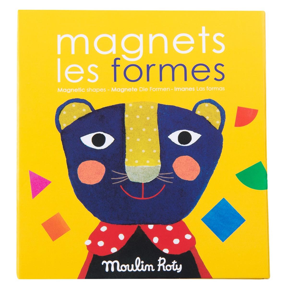 Mes premiers jouets Jeu Magnétique Les Formes - Les Popipop
