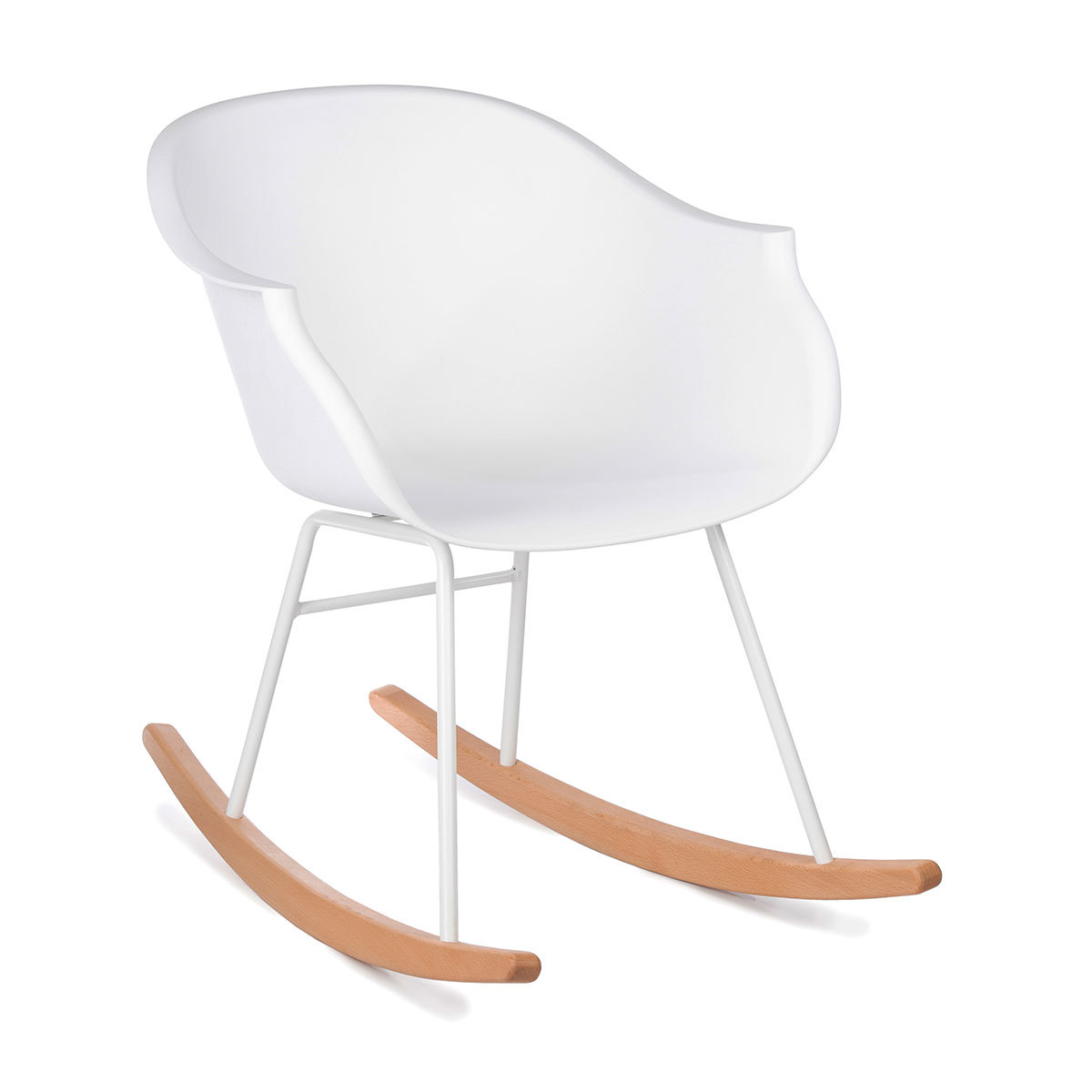 Table & Chaise Rocking Chair Jazzy - Blanc Rocking Chair Jazzy - Blanc