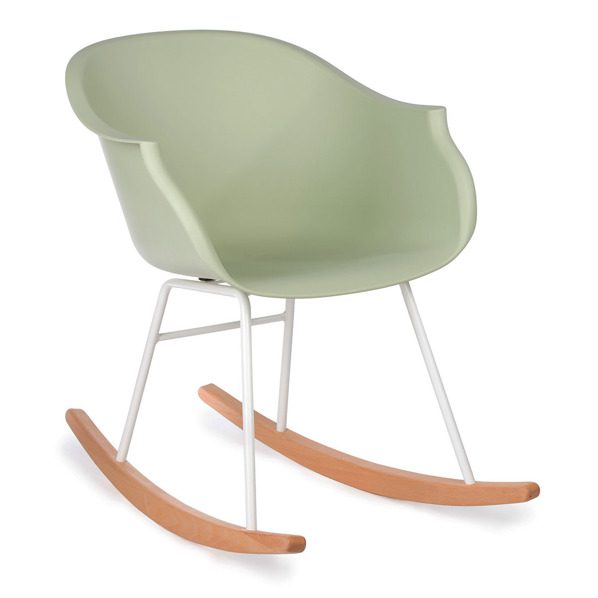 Table & Chaise Rocking Chair Jazzy - Vert Amande