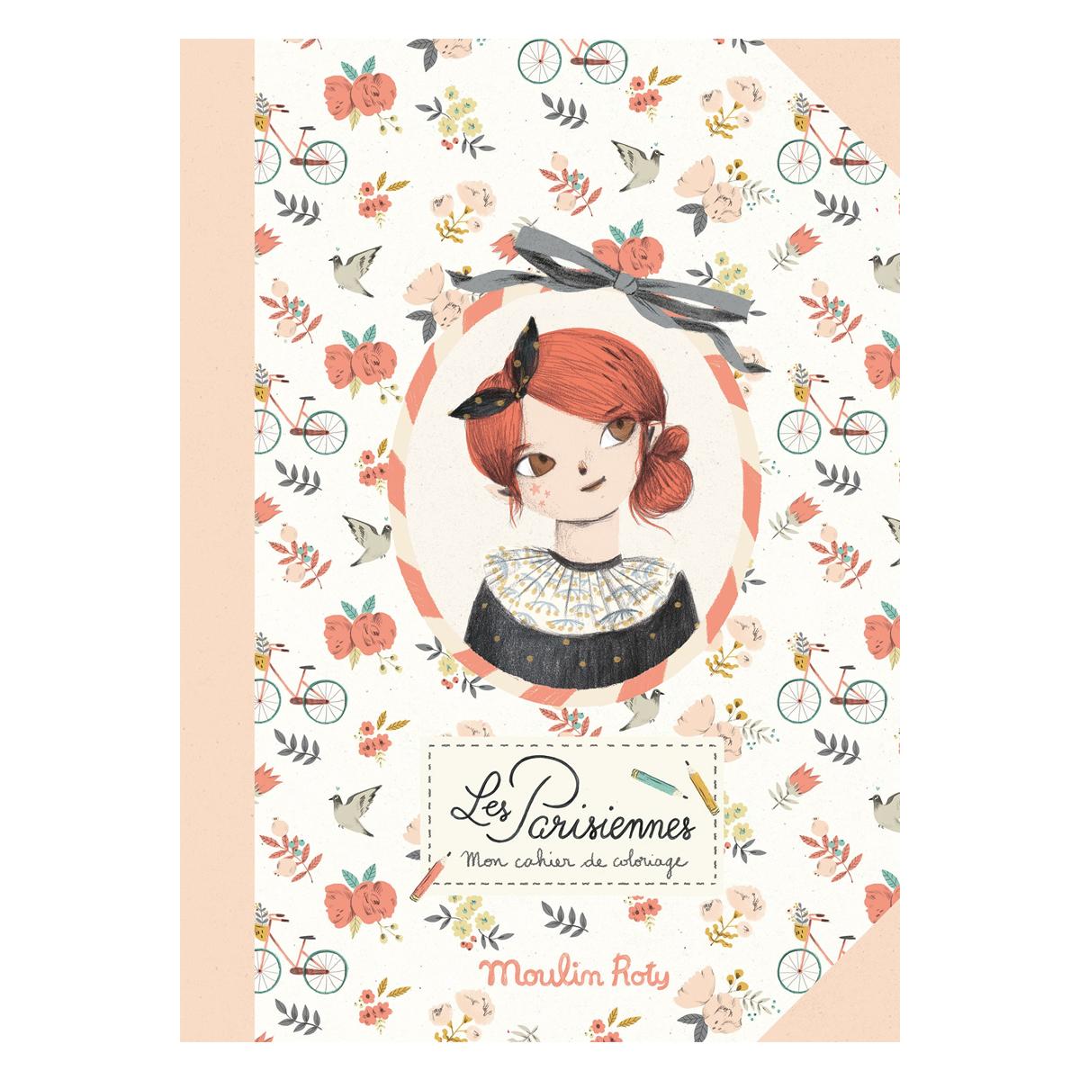 Livre & Carte Cahier de Coloriage - Les Parisiennes