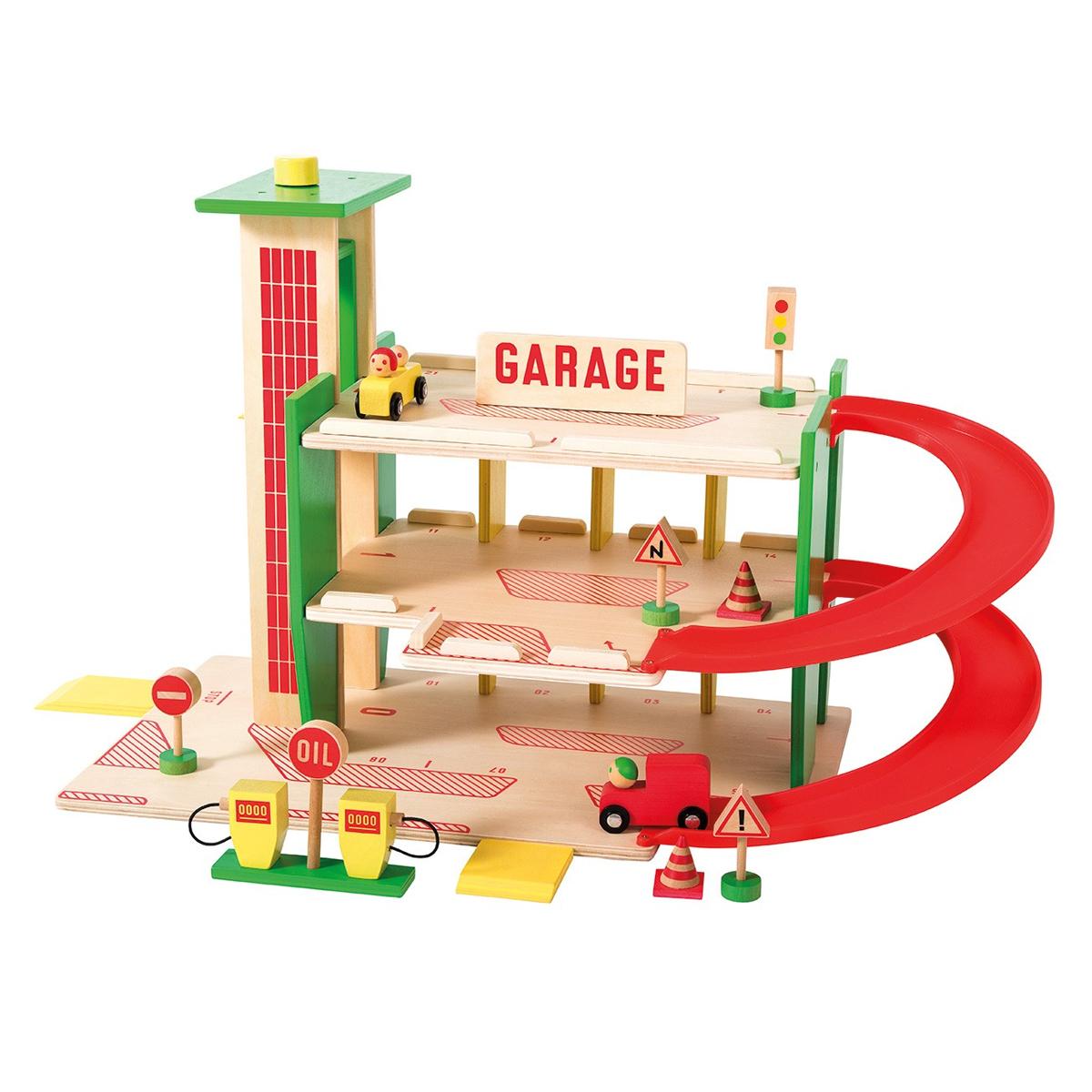 Mes premiers jouets Grand Garage - Dans la Ville