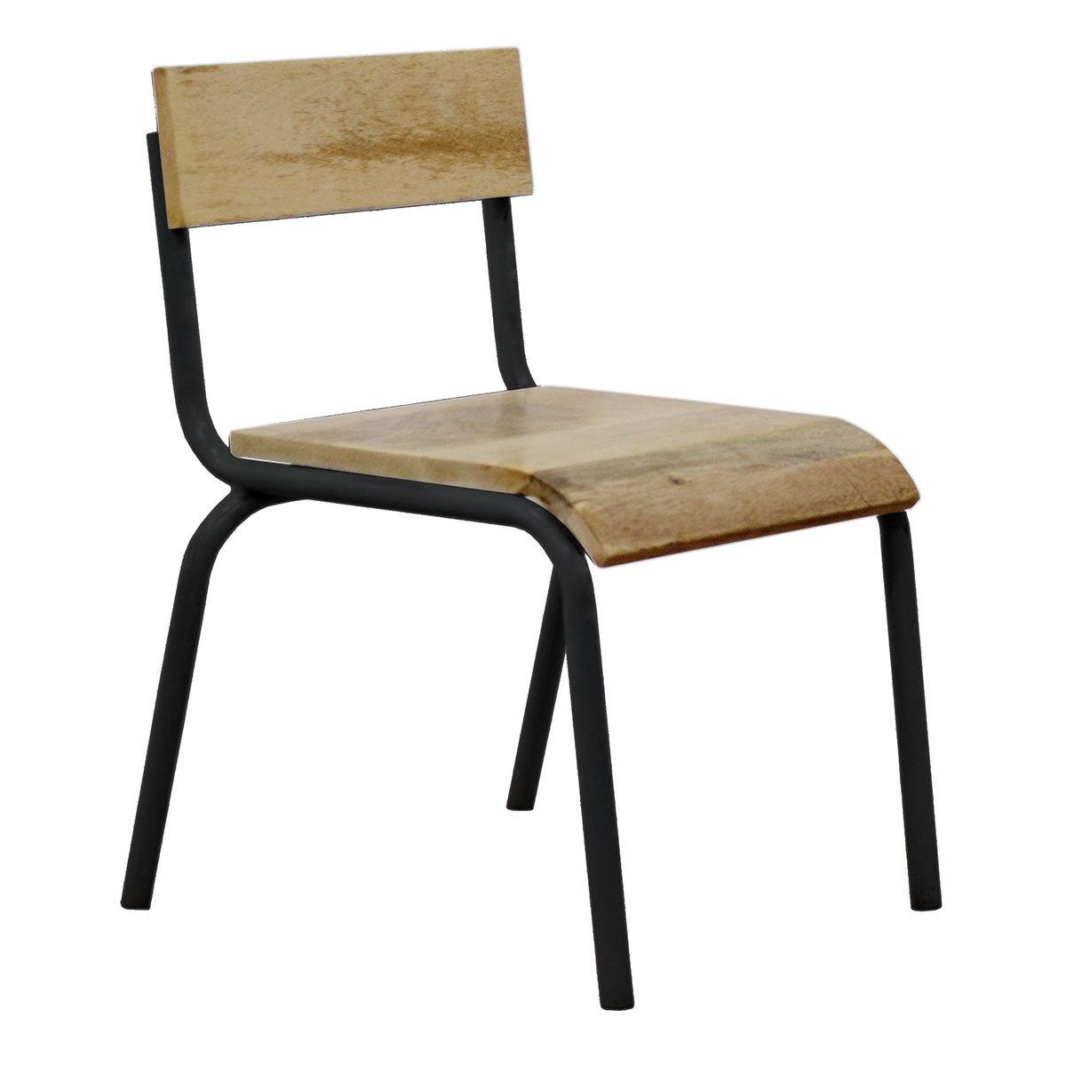Table & Chaise Chaise d'Écolier - Noir Chaise d'Écolier - Noir