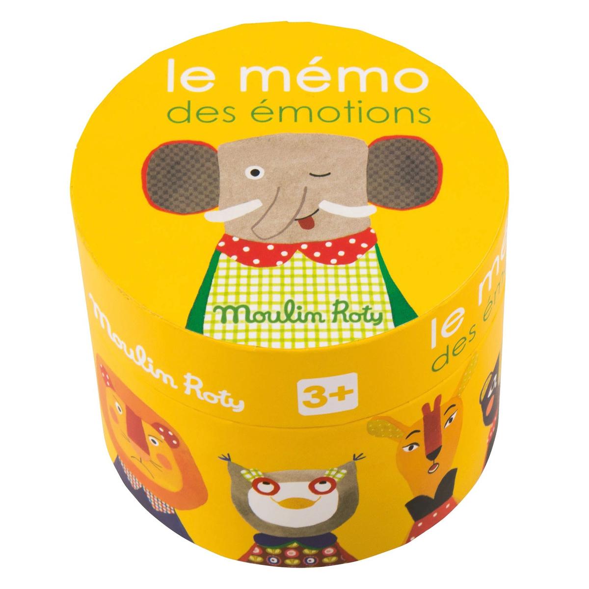Mes premiers jouets Le Mémo des Emotions - Les Popipop Le Mémo des Emotions - Les Popipop