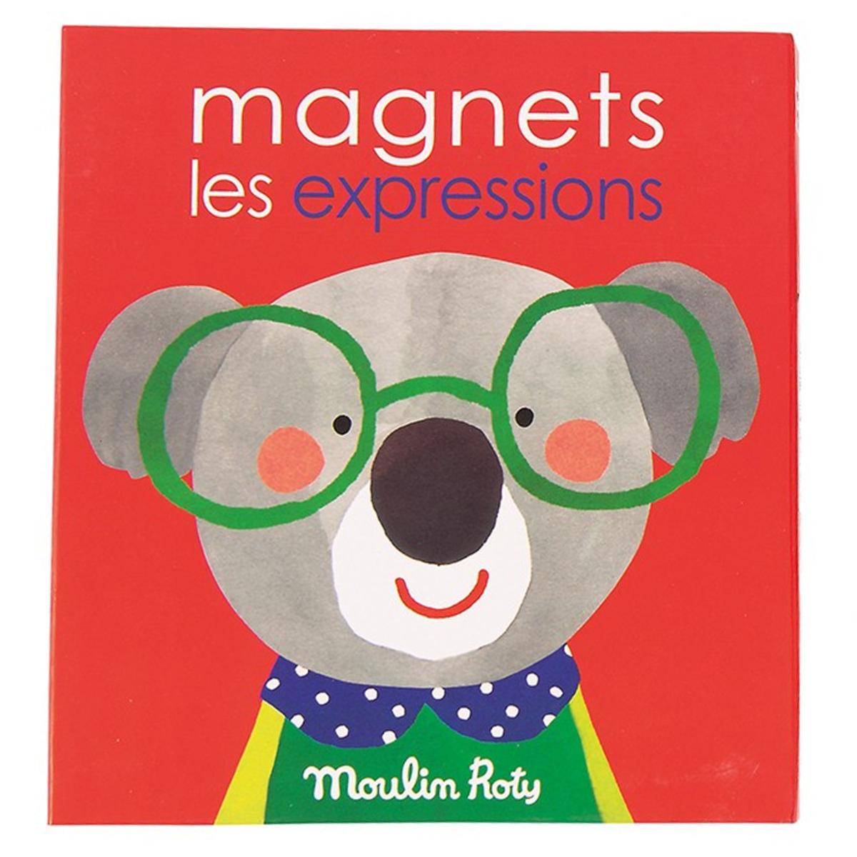 Mes premiers jouets Jeu Magnétique Les Expressions - Les Popipop Jeu Magnétique Les Expressions - Les Popipop