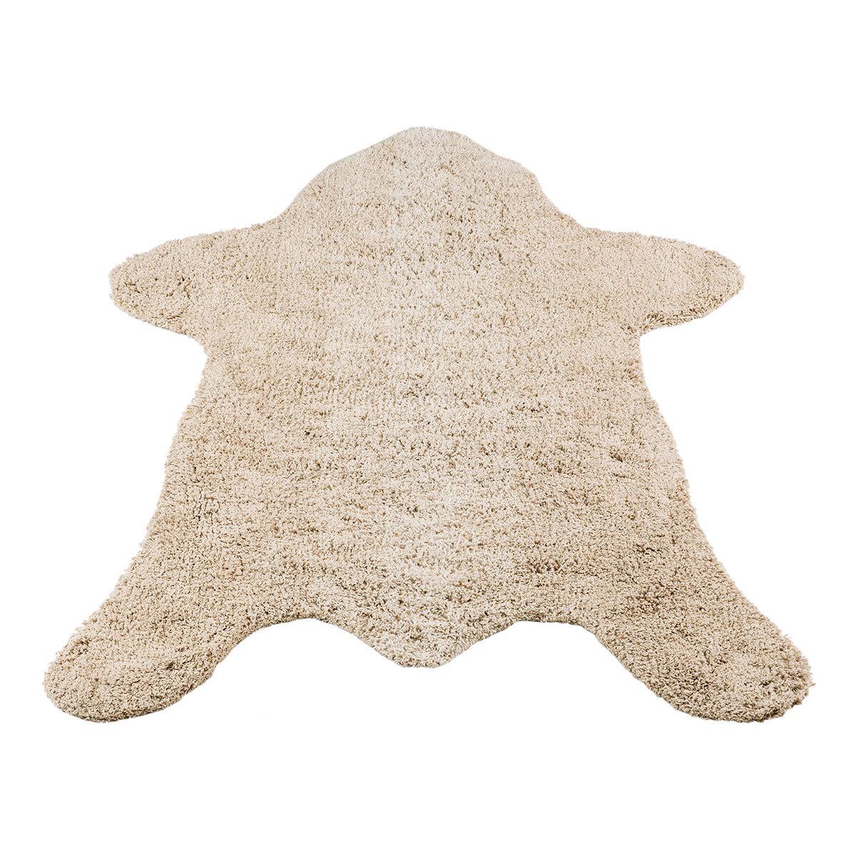 kids depot tapis bear blanc cass tapis kids depot sur. Black Bedroom Furniture Sets. Home Design Ideas