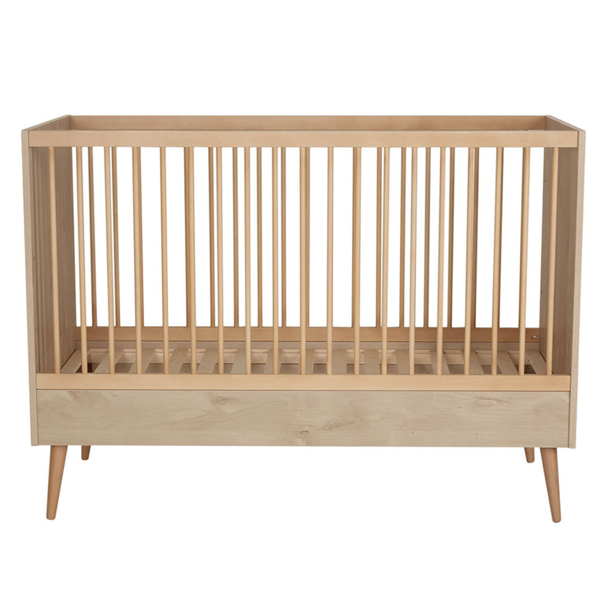 Lit bébé Lit Bébé Evolutif Cocon Natural Oak - 70 x 140 cm Lit Bébé Evolutif Cocon Natural Oak - 70 x 140 cm