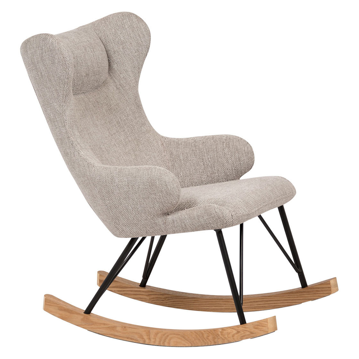 Fauteuil Rocking Kids Chair De Luxe - Sand Grey Rocking Kids Chair De Luxe - Sand Grey
