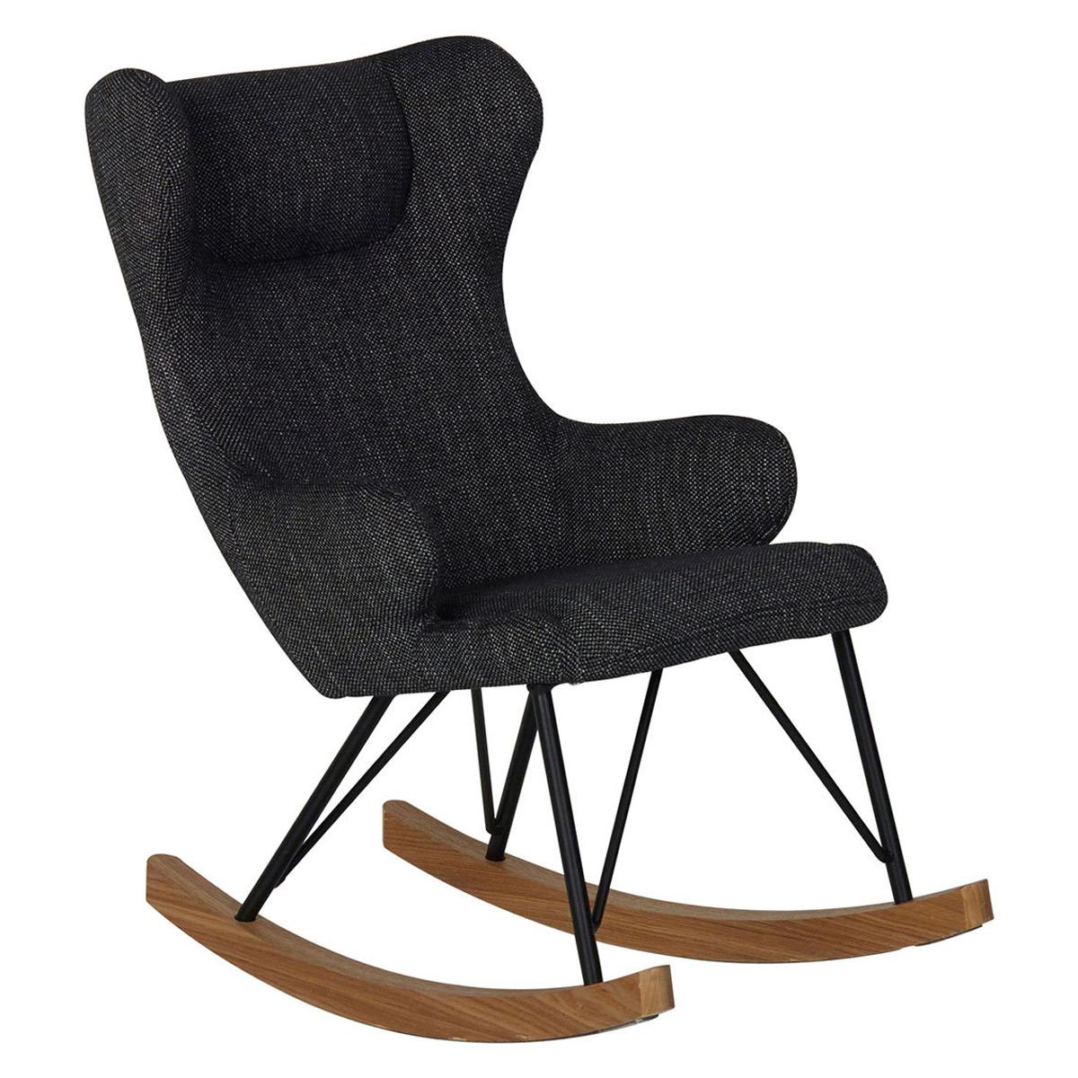 Fauteuil Rocking Kids Chair De Luxe - Black Rocking Kids Chair De Luxe - Black