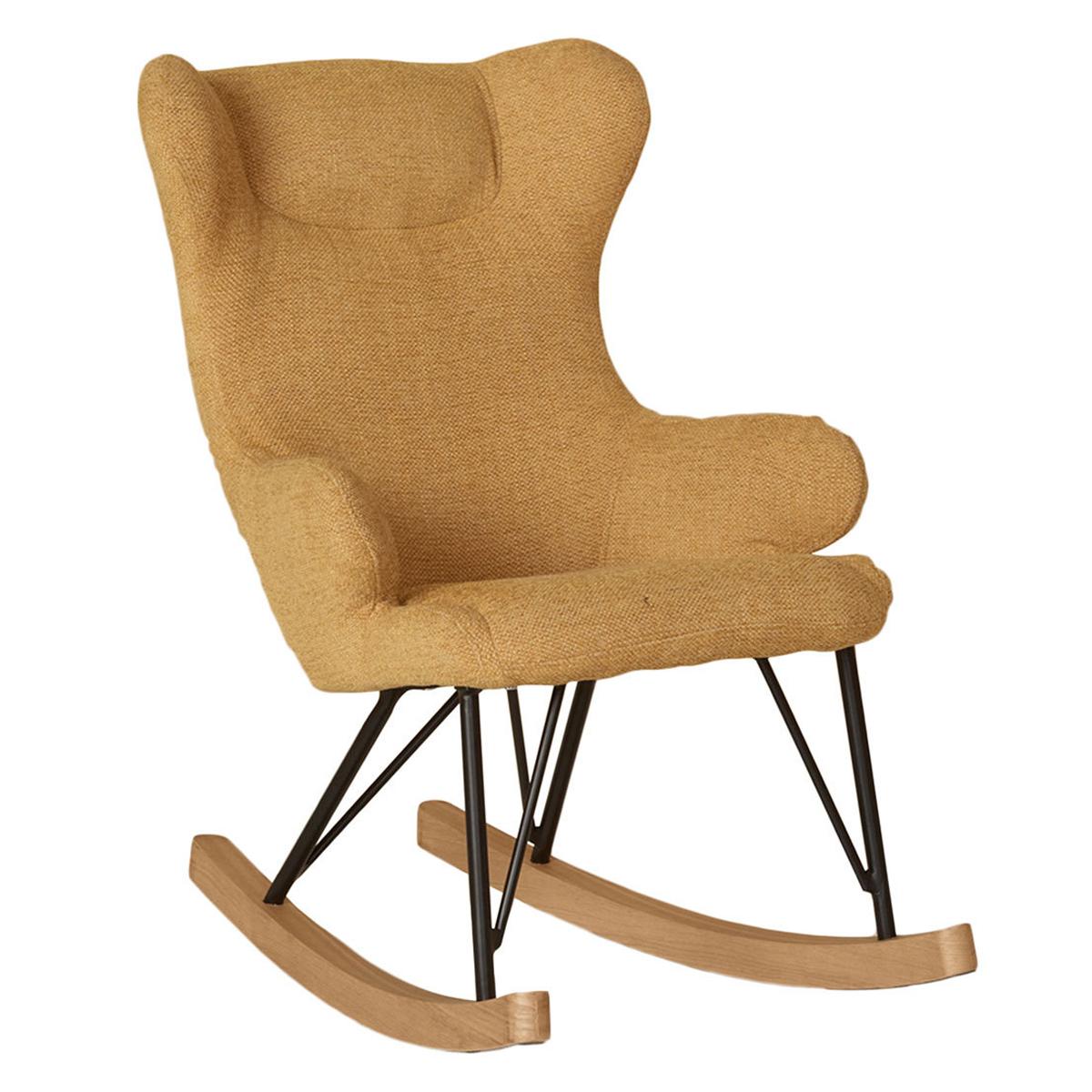 Fauteuil Rocking Kids Chair De Luxe - Safran Rocking Kids Chair De Luxe - Safran