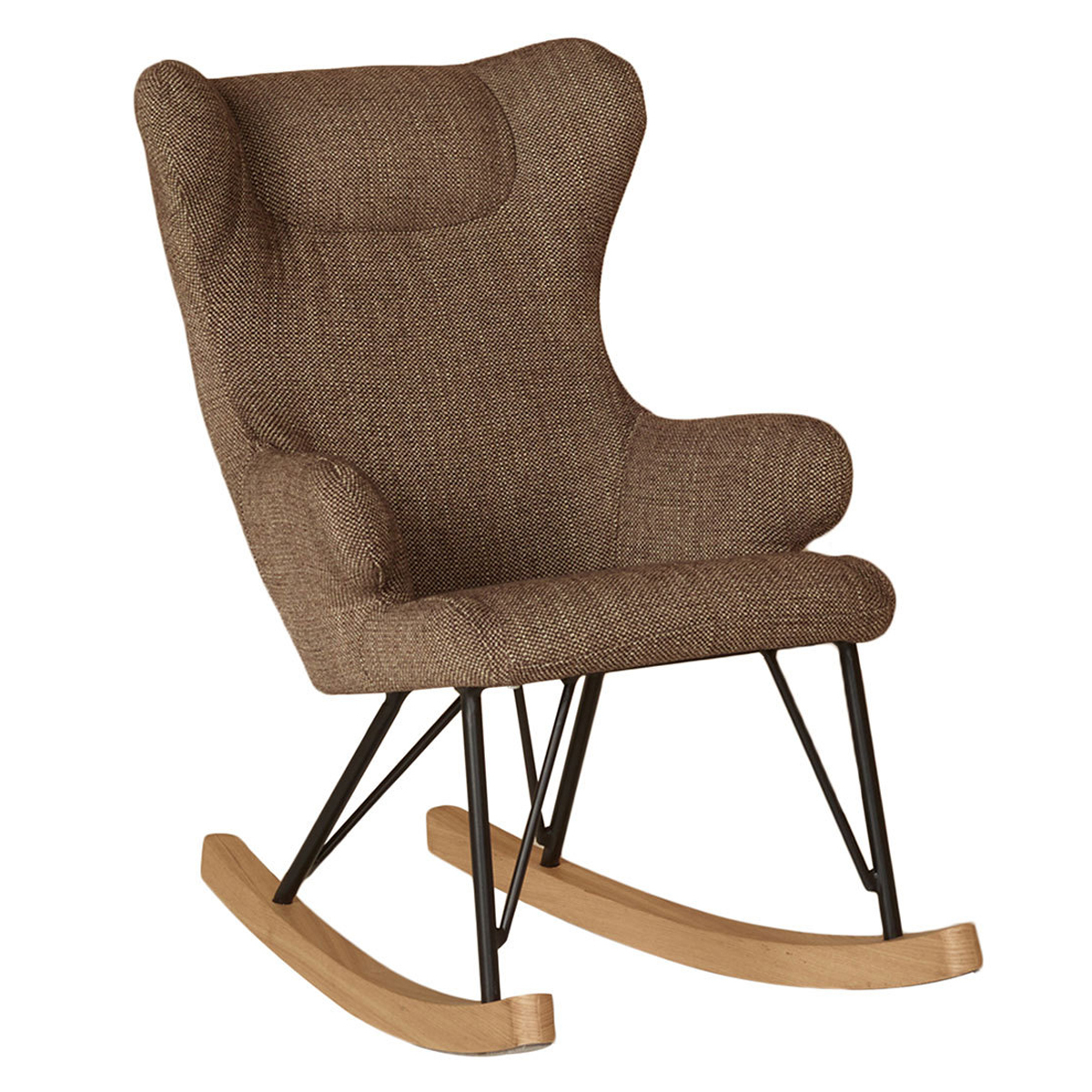 Fauteuil Rocking Kids Chair De Luxe - Latte Rocking Kids Chair De Luxe - Latte