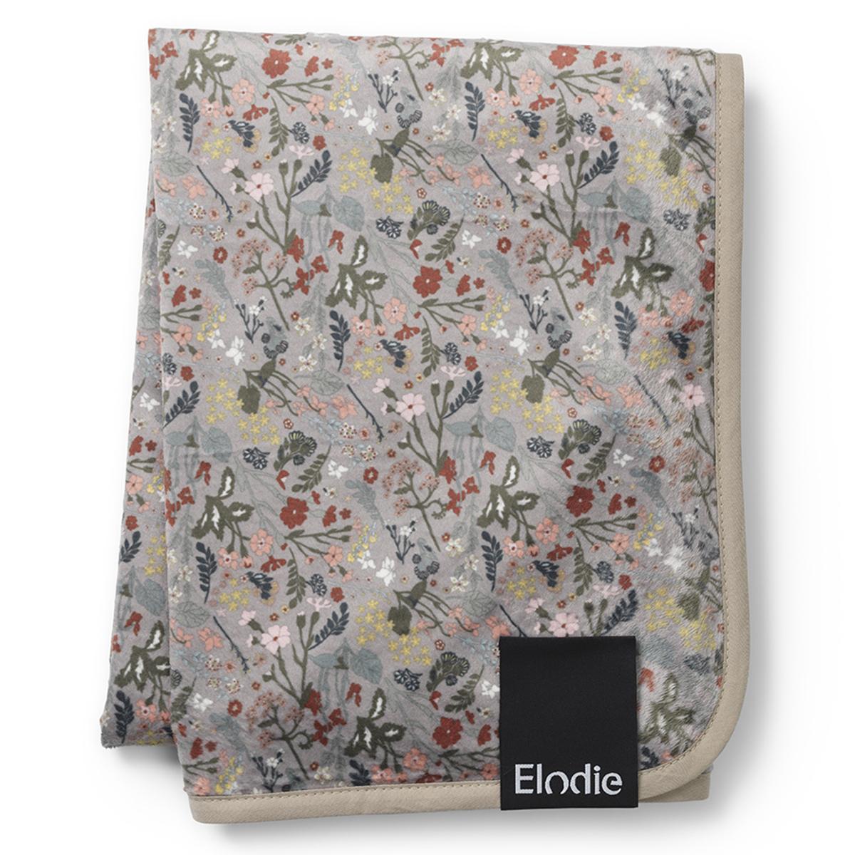 Linge de lit Couverture Polaire - Vintage Flower
