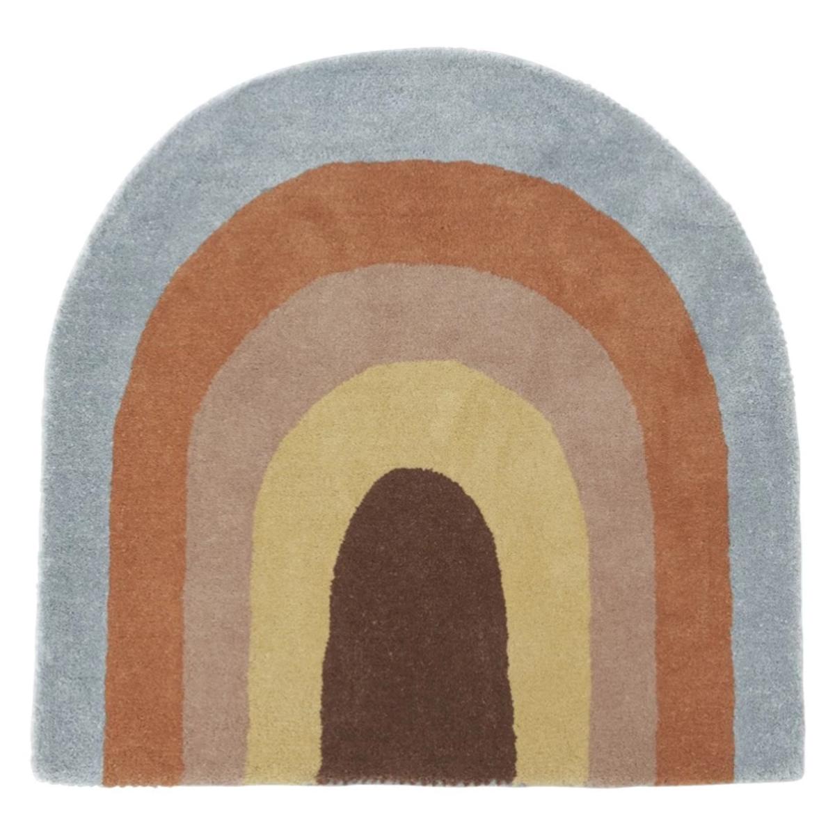 Tapis Tapis Rainbow - 88 x 90 cm