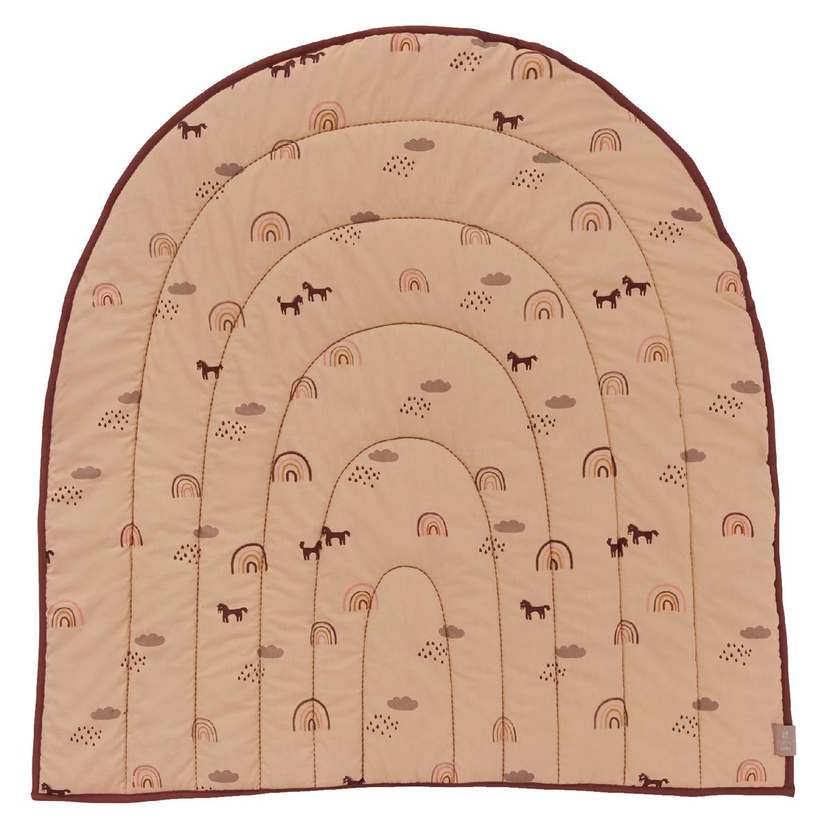 Linge de lit Couverture Matelassée Rainbow - Rose OYOY - AR201908300065