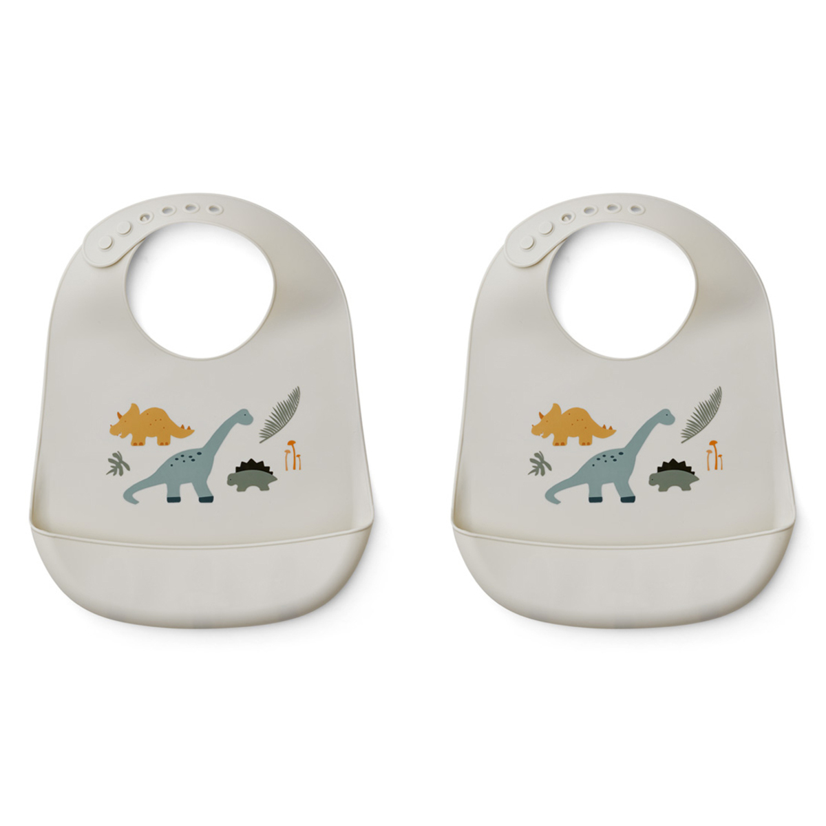 Bavoir Lot de 2 Bavoirs Tilda - Dino Mix Lot de 2 Bavoirs Tilda - Dino Mix