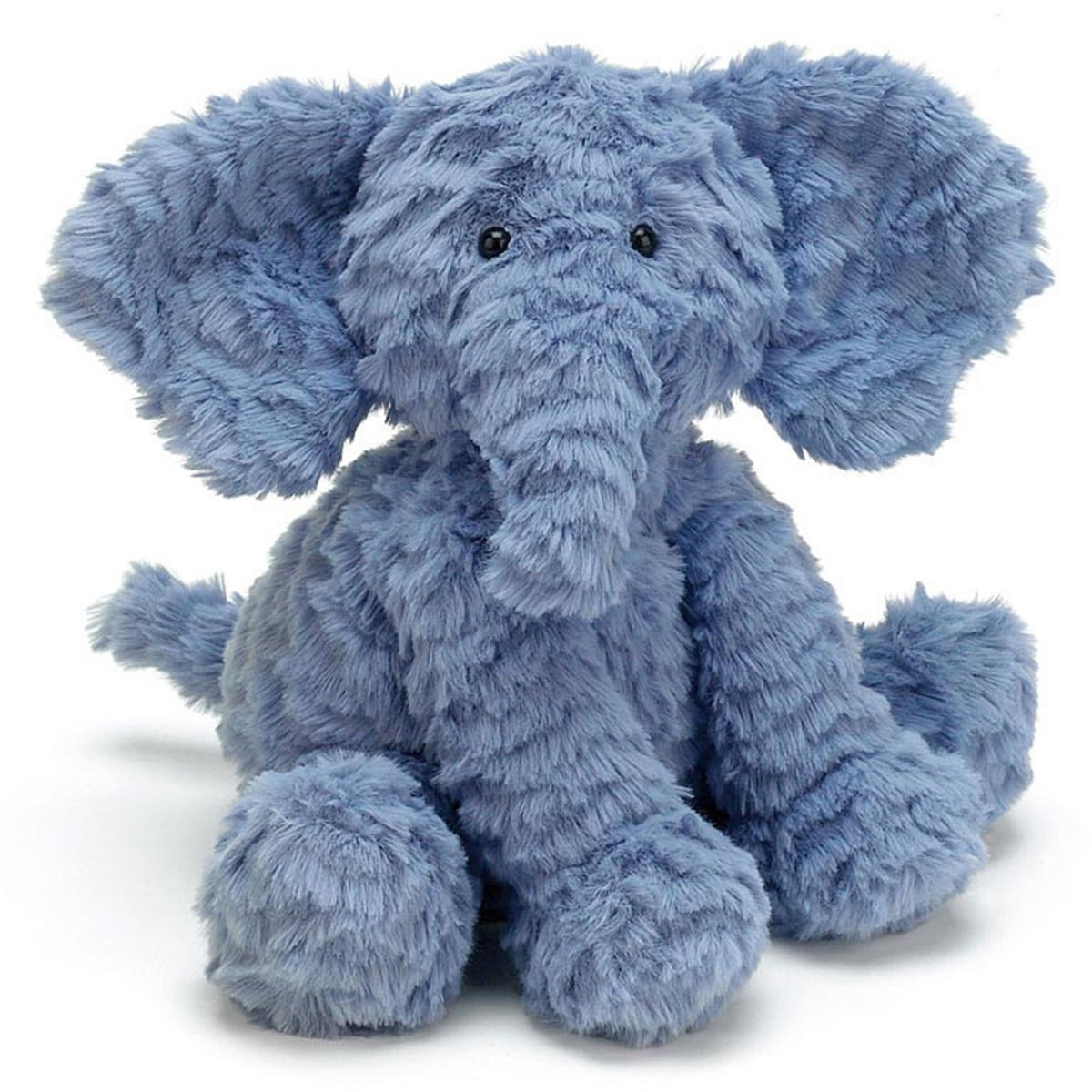 Peluche Fuddlewuddle Elephant - Medium