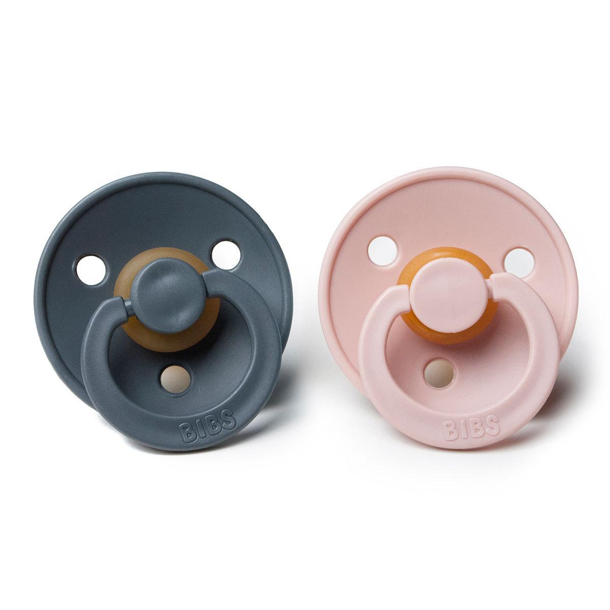 Sucette Pack de 2 Tétines 0/6 Mois - Blush / Iron Pack de 2 Tétines 0/6 Mois - Blush / Iron