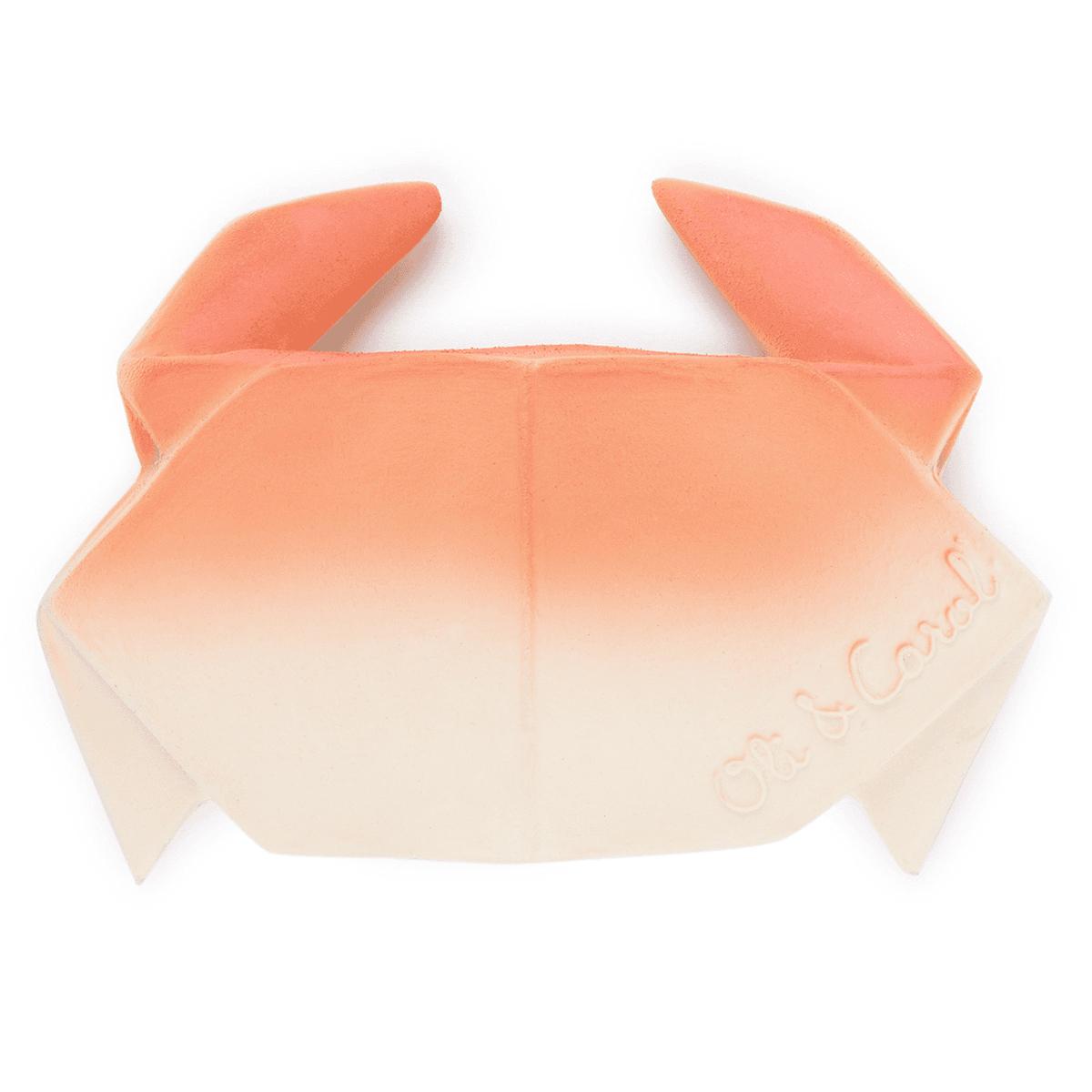 Dentition Jouet de Dentition H2Origami Crabe Jouet de Dentition H2Origami Crabe