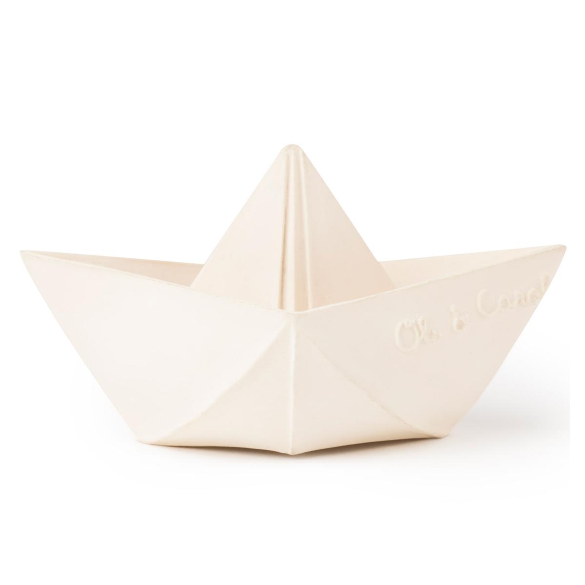 Mes premiers jouets Bateau Origami - Blanc