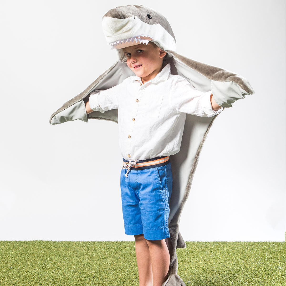 wild soft d guisement requin anniversaire f te wild. Black Bedroom Furniture Sets. Home Design Ideas