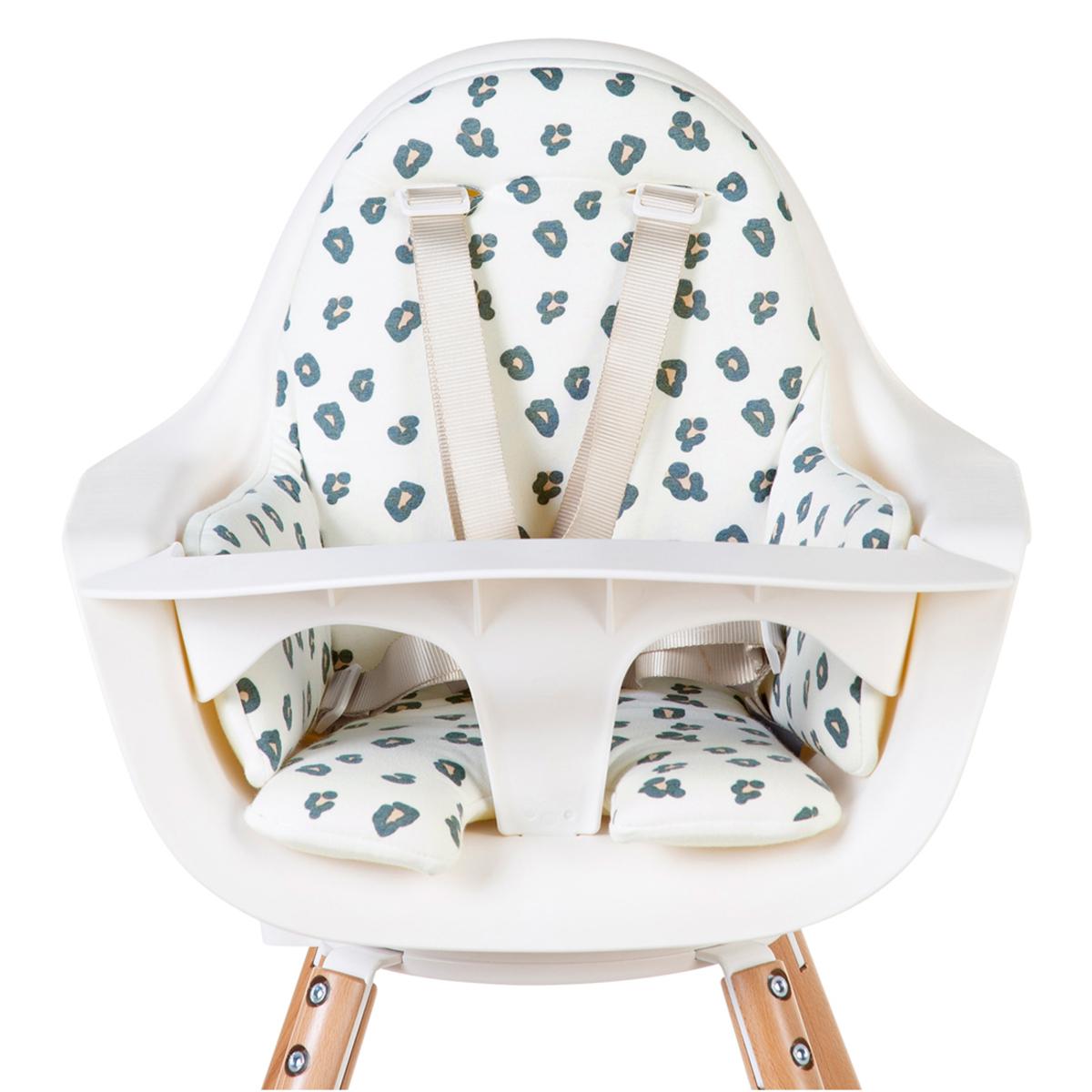 Chaise haute Coussin de Chaise Haute Jersey - Leopard Coussin de Chaise Haute Jersey - Leopard