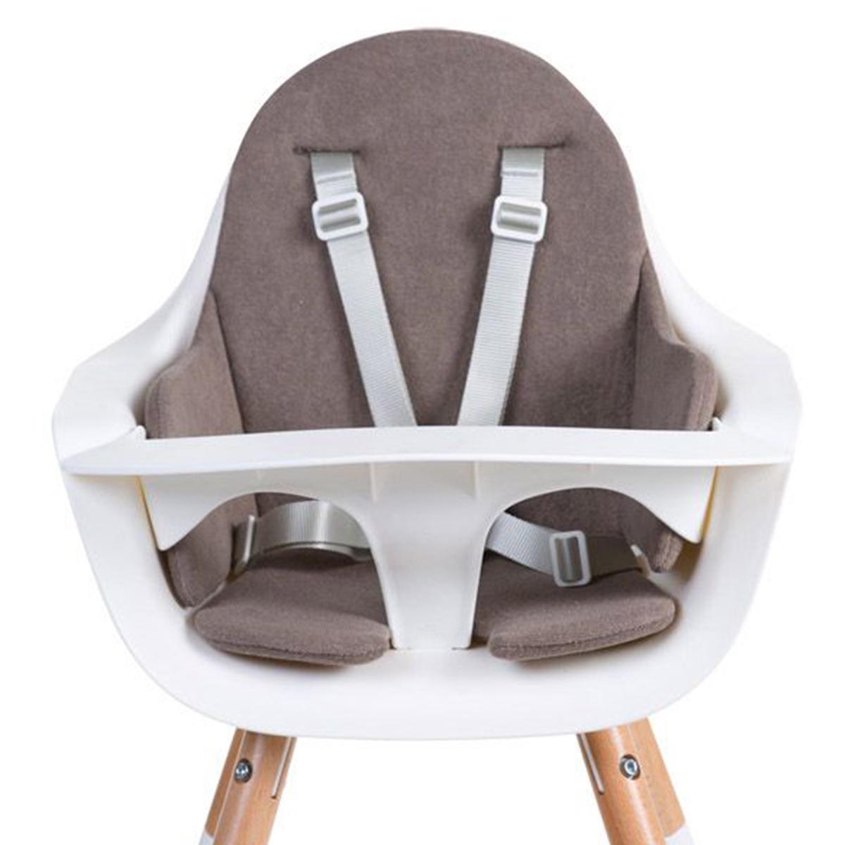 Chaise haute Coussin de Chaise Haute Eponge - Warm Grey Coussin de Chaise Haute Eponge - Warm Grey