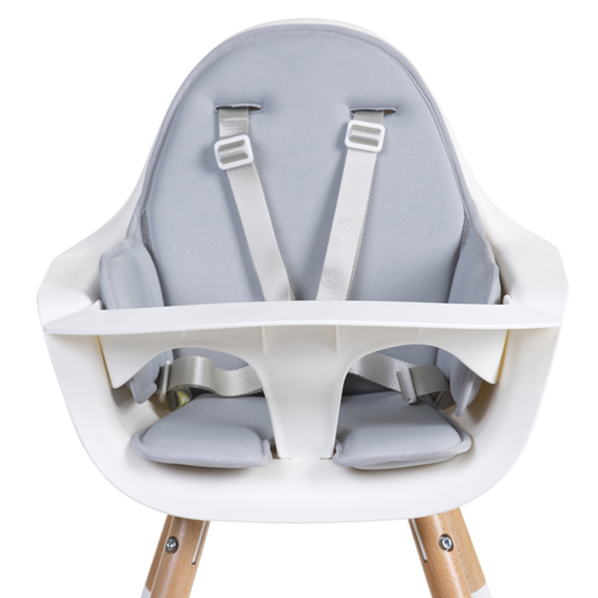 Chaise haute Coussin de Chaise Haute Neoprene - Gris Clair Coussin de Chaise Haute Neoprene - Gris Clair