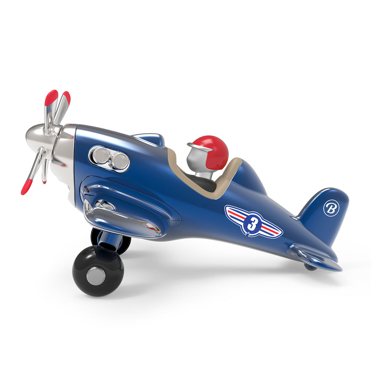 Mes premiers jouets Jet Plane - Bleu